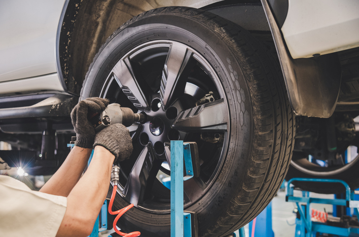 Tyre replacements, repairs & maintenance